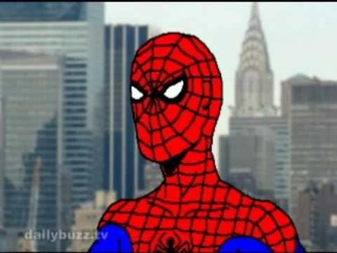 Bush Seeks Advice: Spider-Man (The Daily Buzz)
