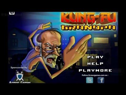 Kung Fu Grandpa Street Fighting Game Online Free Flash Game Videos GAMEPLAY