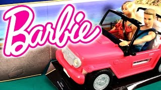 BARBIE Beach Cruiser Playset | Barbie & Ken TOY dolls