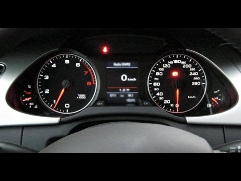 New Audi A4 B8 Oil Interval Reset Easy Amp Fast Youtube