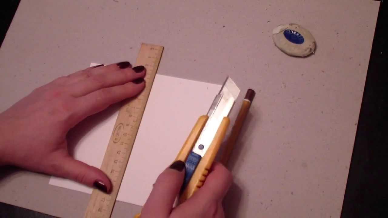Делаем ровную гармошку из бумаги - YouTube