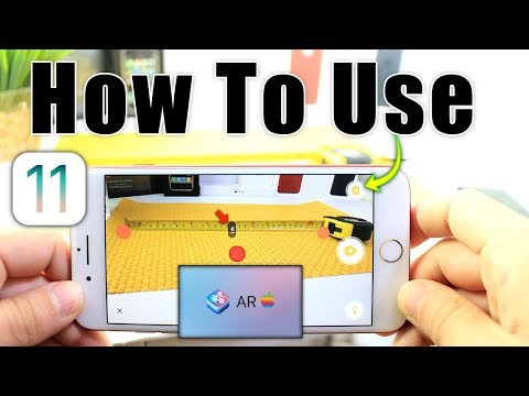 How to use AR in iOS 11