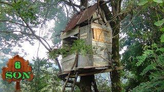 Ağaç Evi Bitirdik , ağaç ev yapımı