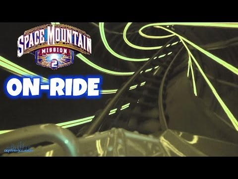 Space Mountain Mission 2 Nightvision On-ride (Complete HD Experience) Disneyland Paris