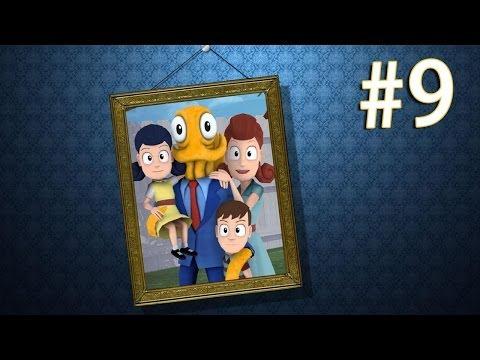 【Octodad 章魚老爹】 - Part 9 - 甜蜜的一家子!