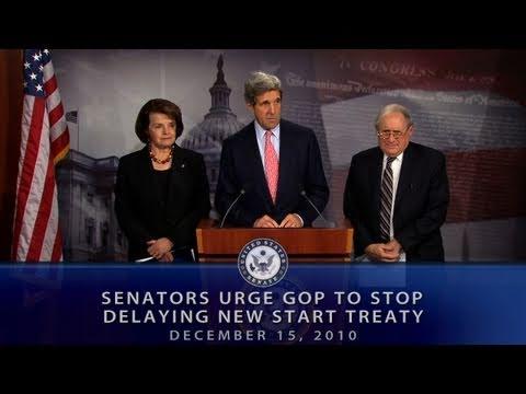 Senators Urge GOP To Stop Delaying New START Treaty