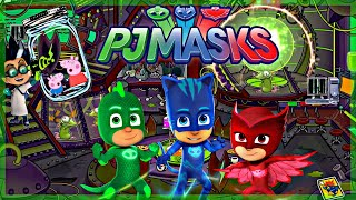 PJ Masks Rescue Peppa Pig & George From Evil Villain Romeo & His Shrink Ray