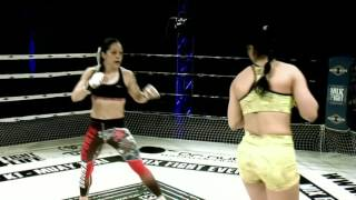MIX FIGHT - AZAHARA SANCHEZ vs KARINE GEVORGYAN