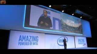 Intel Press Conference at CES 2017