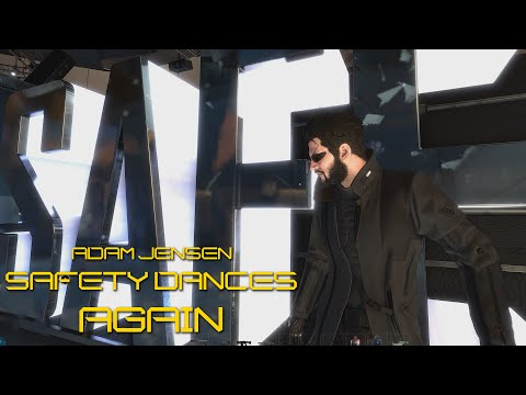 Adam Jensen Safety Dances Again (Deus Ex: Mankind Divided)