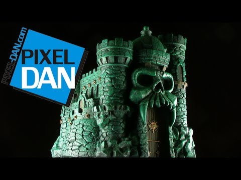 Icon Heroes Masters of the Universe Castle Grayskull Polystone Statue Video Review