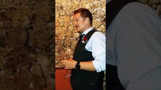 David's wedding speech.
