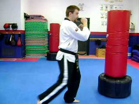 TKD Kickboxing Techniques: Front Snap Kick Image 1