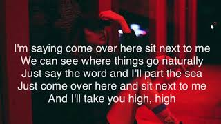 Foster the people • sit next to me (lyrics)