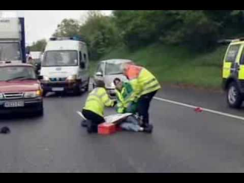 BBC Traffic cops dicing with death Video