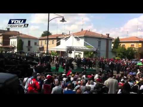 La visita del Papa a Rovereto sulla Secchia da Youreporter