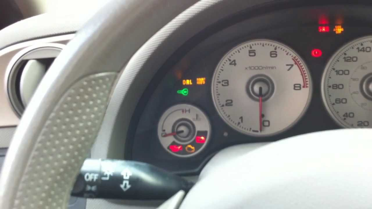 Acura Rsx  2002 - 2006   How To Reset Maintenance Required Indicator