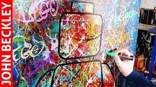 download musica Pop Art Painting of a Lego Street Art Abstract Art Noa