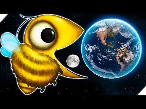 ПЧЕЛОЗАВР СЪЕЛ ЛУНУ И ЗЕМЛЮ - Tasty Planet Forever # 7 Tasty Planet 4 ЭВОЛЮЦИЯ ПЧЕЛЫ