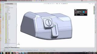 Offset Surface Shelling - SolidWorks Tutorial