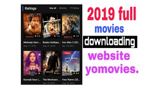 download latest Hollywood Bollywood movies 2019 movie download app for 2019
