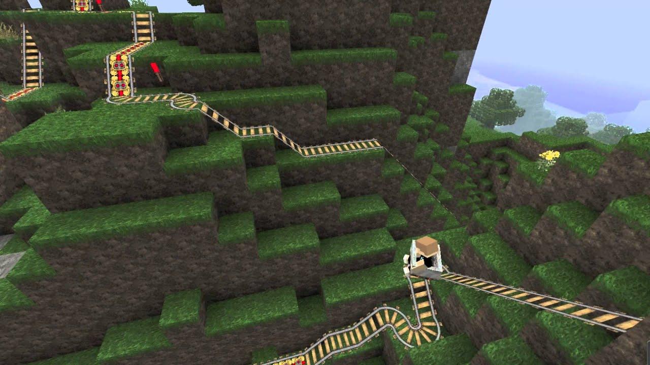 Minecraft langste achtbaan ooit youtube - Bell glazen huis in de wereld ...