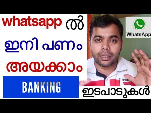 WhatsApp ൽ ഇനി പണം അയക്കാം | Banking ഇടപാടുകൾ നടത്താം| Ameer Elamaram |