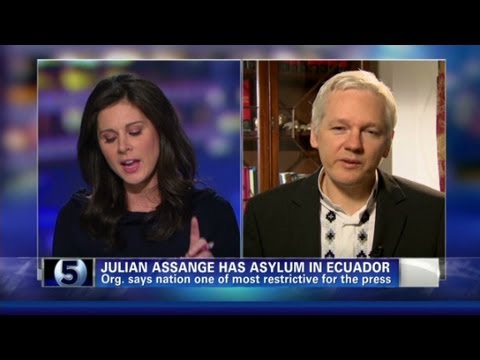 Wikileaks founder has new book on internet freedom