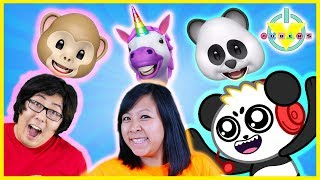 Let's Play with 3D iPhone Aniomoji ! VTubers Play with Dinosaur Unicorn and MORE!