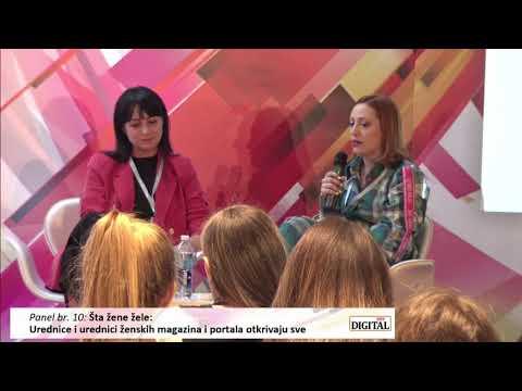 Digital 2019 - panel 10: ŠTA ŽENE ŽELE: Urednice i urednici ženskih magazina i portala otkrivaju sve