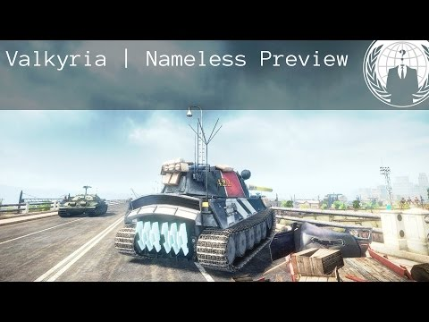 Valkyria Chronicles Nameless Preview | World of Tanks Blitz