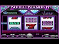 Double Diamond ™ free slots machine game preview by Slotozilla.com