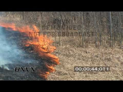 4/17/2009 Prescribed Burn Grass Fire Footage, Sherburne National Wildlife Refuge