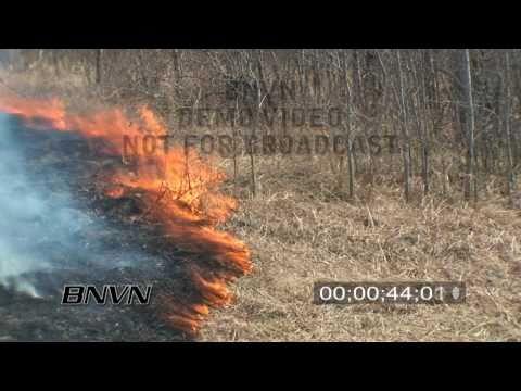 4/17/2009 Prescribed Burn Grass Fire Footage, Sherburne National Wildlife Refuge