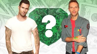 WHO'S RICHER? - Adam Levine or Chris Martin? - Net Worth Revealed! (2016)