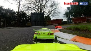 RC CAR SLIDE, CRASH and ROLL...ONBOARD ACTION