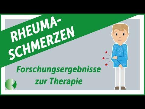 Forschungsergebnisse zu Rheumaschmerzen