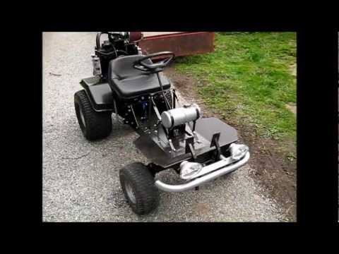 Home Made Lawn Mower Go Kart Project Black Betty Part 3