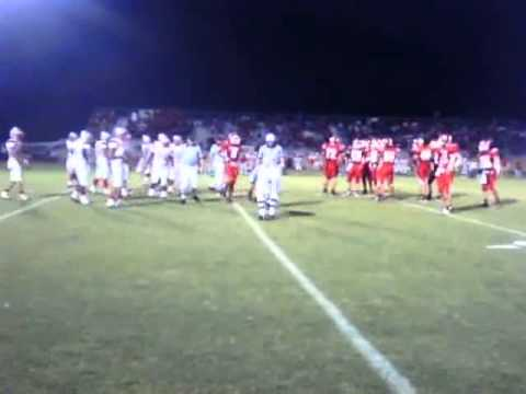 Columbus vs. Bellville high school football