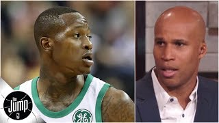 Reacting to Terry Rozier's First Take comments: 'That's not how you' secure the bag | The Jump