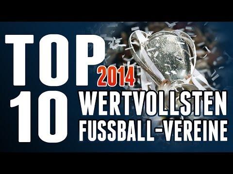 TOP 10 | FUSSBALL - DIE WERTVOLLSTEN FUSSBALL VEREINE | Most Valuable Soccer Teams  [ TOP TEN ]