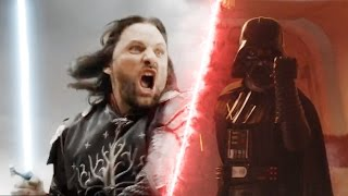 Star Wars VS Lord of the Rings Epic Supercut (Fan Trailer)