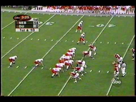 Nebraska @ Oklahoma 10/28/00 *(first half highlights)