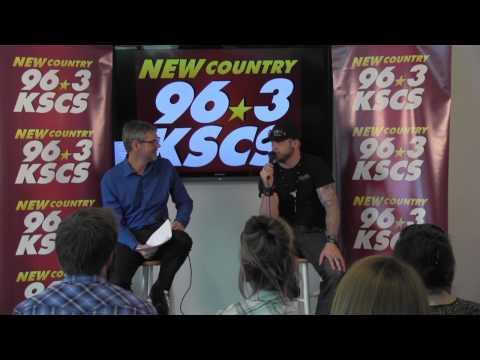 Brantley Gilbert At The Kscs Studios With Hawkeye video