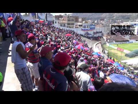 Cantos de la hinchada del Quito en Ambato