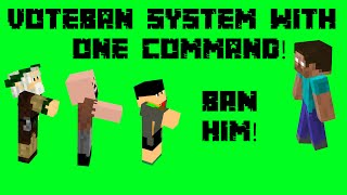 VoteBan system with one command! [1.10]