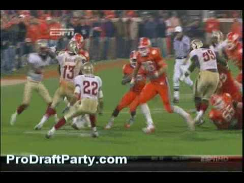 RB CJ Spiller Highlights 2009 Clemson Video