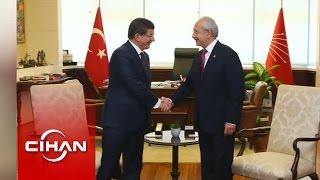 Davutoğlu - Kılıçdaroğlu Görüşmesi Başladı (İlk Görüntüler)