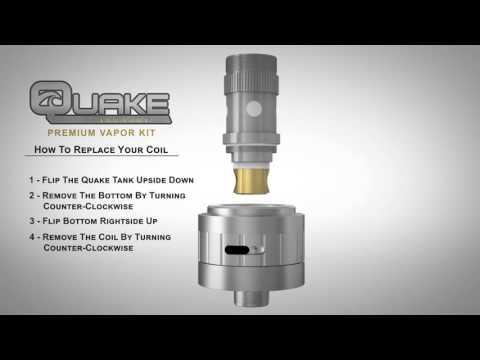 How to Replace the Quake Sub ohm Box MOD Coil