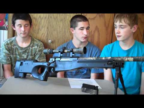 WELL L96 AWP Spring Airsoft Sniper Rifle Review